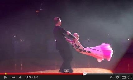 Dmitry Zharkov & Olga Kulikova Show Case 2015 Walz