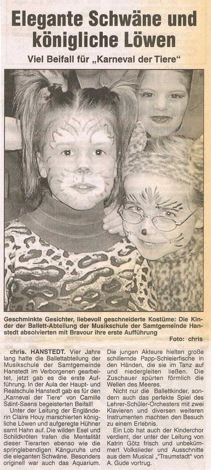 Nordheide Wochenblatt 24.03.1999