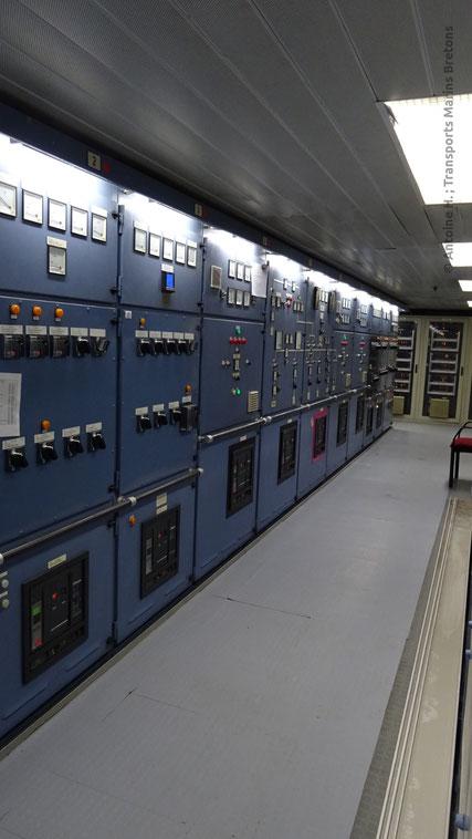 Panneau de contrôle électrique de Normandie