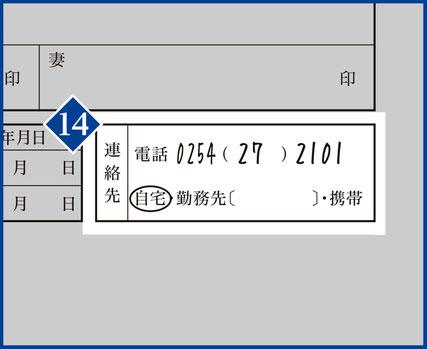 14.【連絡先】