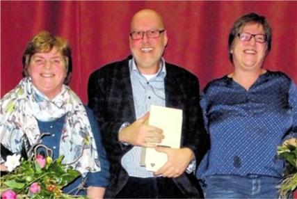 Scheidende Vorstandsmitglieder - Ingrid Lotze, Manfred Weidl, Claudia Werdecker - 2015
