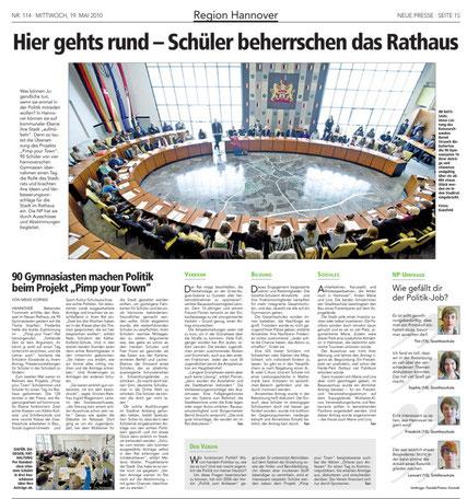 19. Mai 2010, Neue Presse