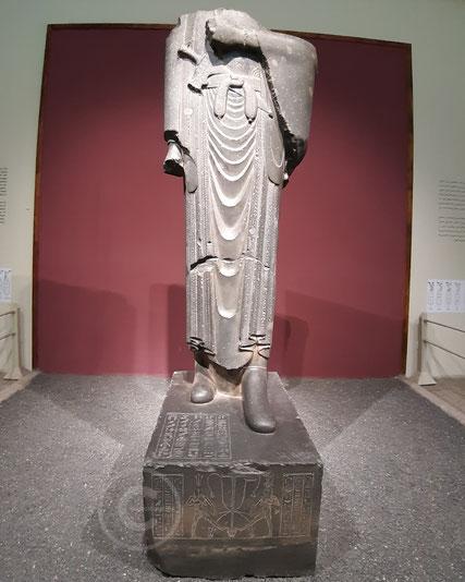 Statua di Dario rinvenuta a Susa - National Museum of Iran (Teheran)
