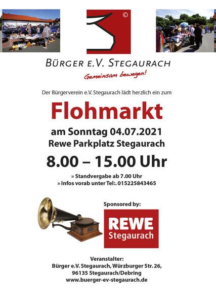 Flohmarkt Stegaurach Debring Rewe 04.07.2021