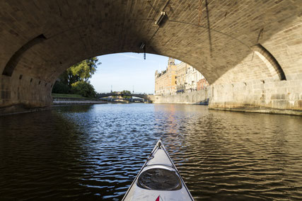 Kayaking in Stockholm - Copyright Henrik Trygg, Visit Stockholm