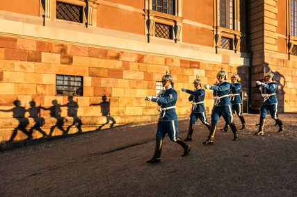 Guards at the Royal Palace, Stockholm - Copyright Jeppe Wikström, Visit Stockholm