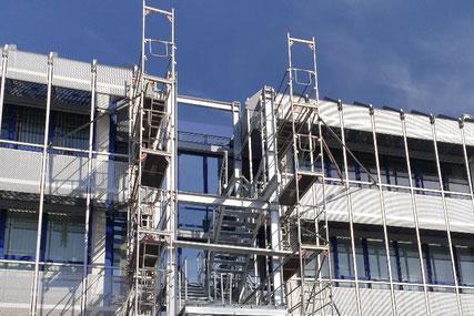 Stahlkonstruktion der Heller Maschinenfabrik GmbH in Nürtingen
