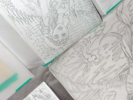 制作予定の作品から 美術家 立花雪 YukiTachibana