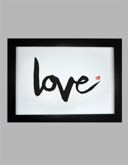 Kunstruck LOVE zum Valentinstag