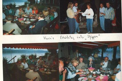 Foto: Segelclub Schwangau e.V. - Geburtstagsfeier Karin Moch