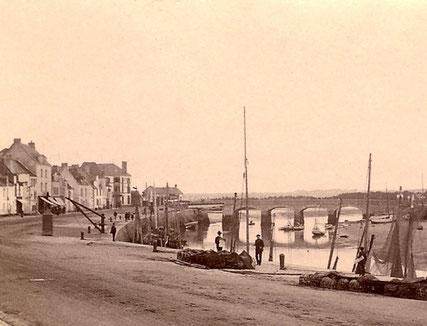 Le Port du Pouliguen en 1909