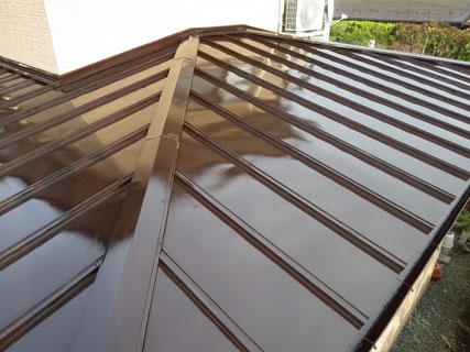 盛岡市屋根塗り替え後