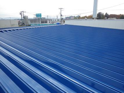 花巻市屋根塗装後