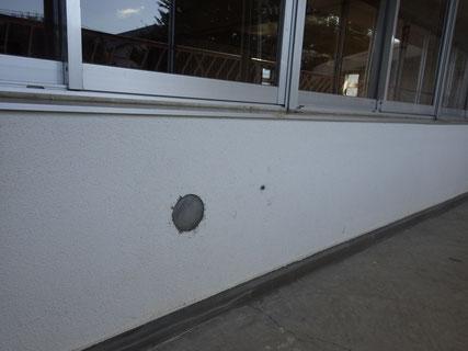 盛岡市外壁補修塗装前