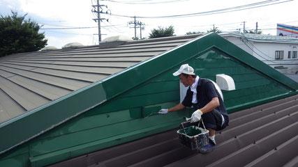 紫波町 屋根塗り替え