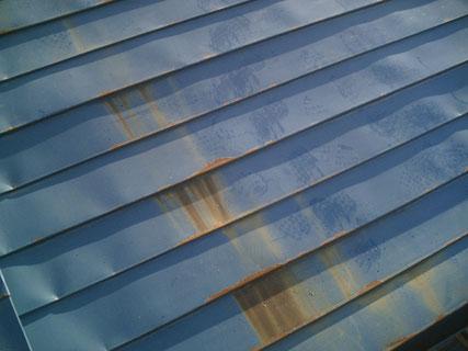 矢巾町、屋根塗装前