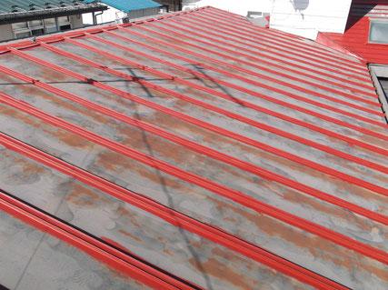 盛岡市屋根塗装前