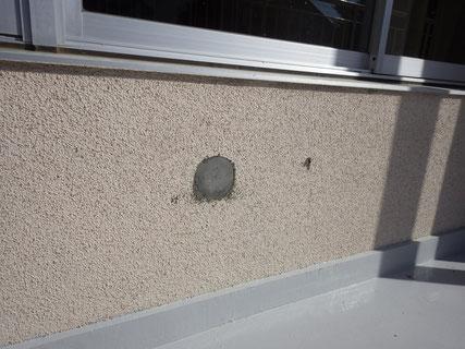 盛岡市外壁補修塗装前2