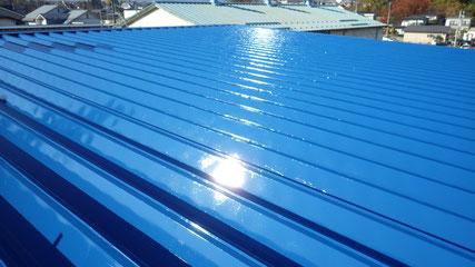 花巻市屋根塗り替え後