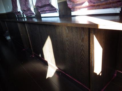 木製BOX塗装