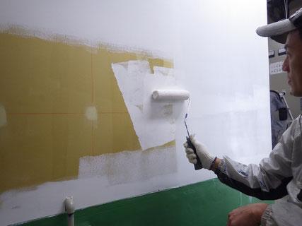 中塗り工程