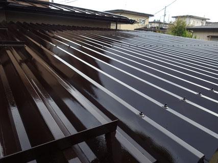 盛岡市屋根塗装完了