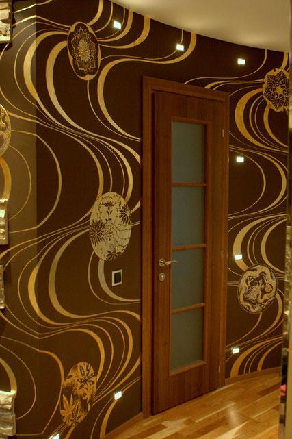 Роспись квартиры в японском стиле.