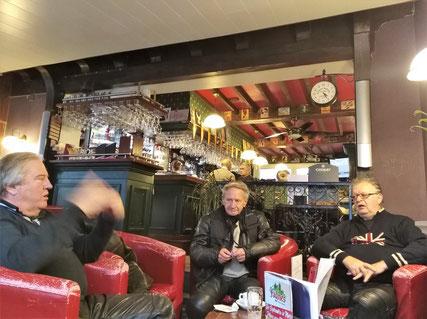 A Couvin : Henri, Didier et Gull