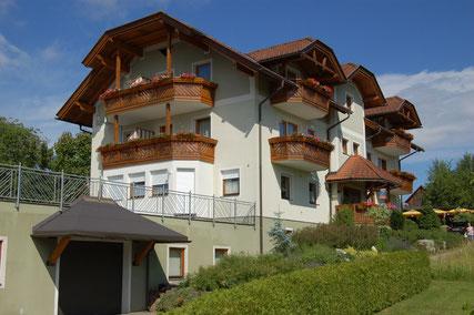 Unser Haupthaus mit Ferienwohnungen