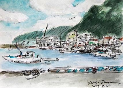 神奈川県・真鶴漁港