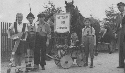 Bild: Teichler Wünschendorf Erzgebirge Schul- und Heimatfest 1952