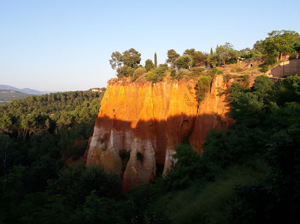 Crédit photo Didier Lavagne. Roussillon.Vaucluse. France