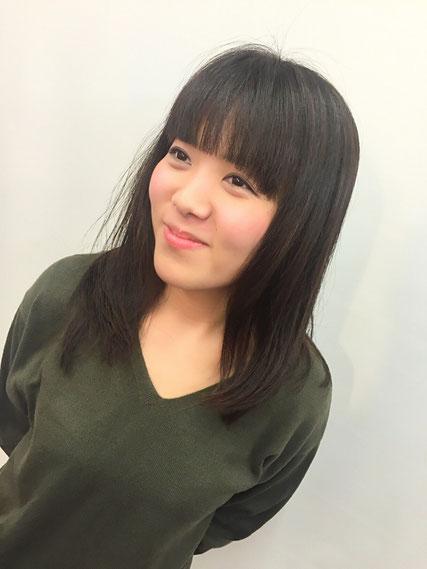 横浜・日吉・菊名・美容室☆女性の笑顔を作る専門家☆美容家 奥条勇紀 毎回こわばった顔で来店する久美子ちゃん