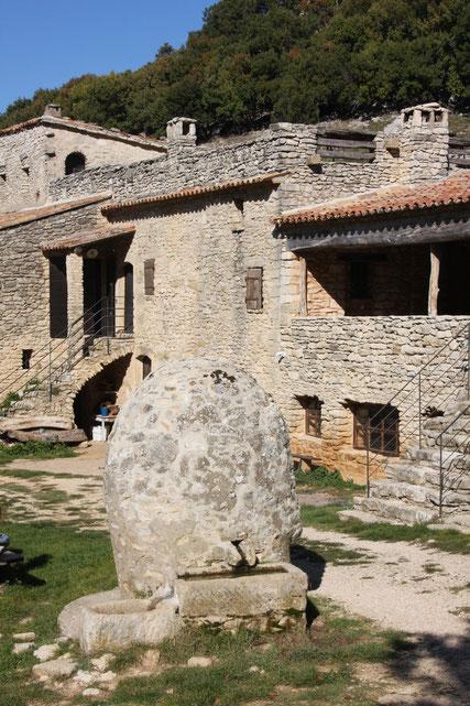 Bild: Ziegenfarm Le Castellas bei Sivergues