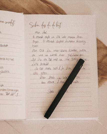Babytagebuch Tagebuch Liebesbriefe Baby Geschenk zur Geburt