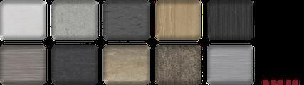 monolith monobloc modul Anbauelemente Texturen