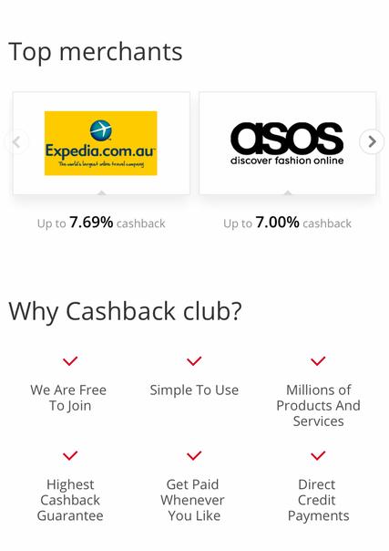 cash back club, Australian cash back, save money, referral, buy and save, money back,