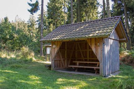 Wanderhütte © Touristikzentrale Paderborner Land e. V.