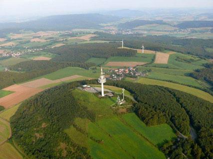 Luftbild vom Köterberg © Lippischer Heimatbund