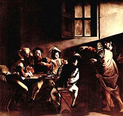 Le Caravage : l'appel de Matthieu