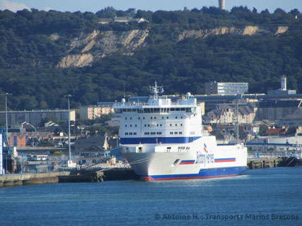 Cotentin berthed in Cherbourg-en-Cotentin.