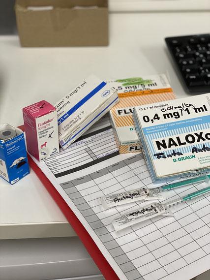 Multimodale Narkose aus verschiedenen Komponenten