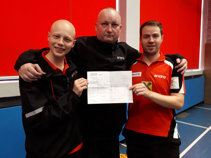 Dominik Tarmann, Tomas Janci und Martin Kinslechner feierten zwei Siege.