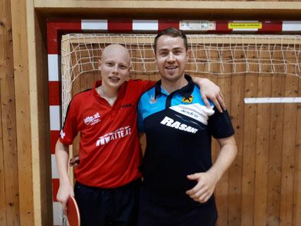 Dominik Tarmann und Martin Kinslechner agierten als ideales Gespann in Kapfenberg.