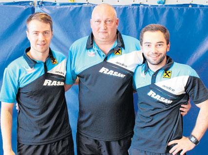 Allianz Sierndorf/1 mit Martin Kinslechner, Tomas Janci und Michael Kufmüller.