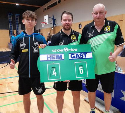 Johannes Maad, Martin Kinslechner und Tomas Janci jubelten gegen Ebensee und gegen Kuchl.