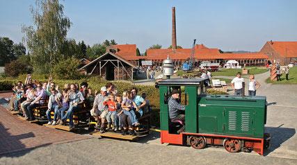 Fahrt mit der Feldbahn © LWL-Industriemuseum, Willi Kulke