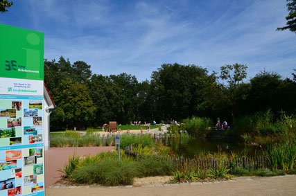 Ems-Erlebnisgarten © Stadt Schloß Holte-Stukenbrock