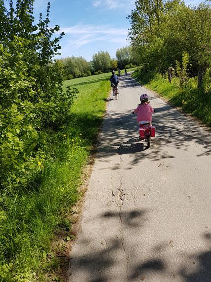 Fahrradfahrer © Stadt Nieheim