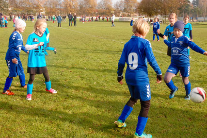 Spieletreff / Turnier der E-Mädchen in Reinfeld